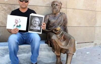 Άγαλμα του Αναξαγόρα ή τούρκου ποιητή;
