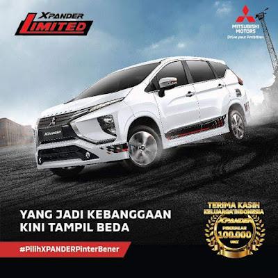 Harga Mitsubishi Xpander Limited Pekanbaru Riau Hanya 1000 unit di Indonesia !!