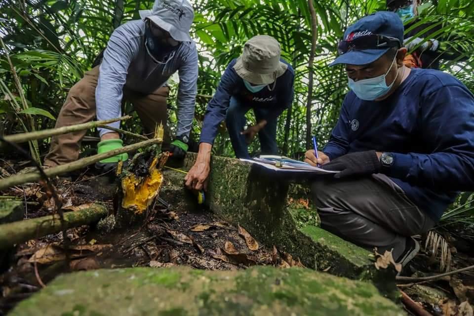 Ungkap Sejarah Peninggalan Belanda, Tim Disbudpar Kota Batam Telusuri Pulau Boyan Bulang