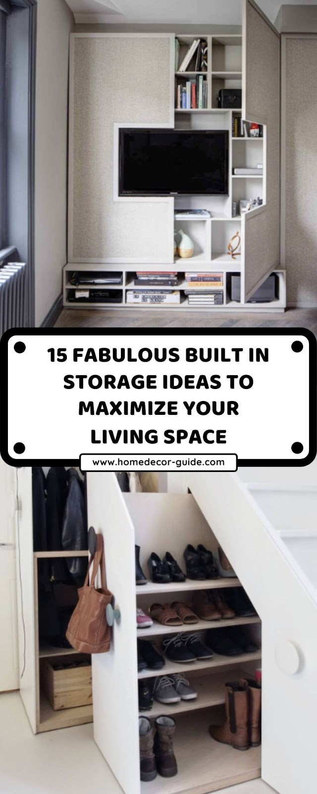15 FABULOUS BUILT IN STORAGE IDEAS TO MAXIMIZE YOUR LIVING SPACE