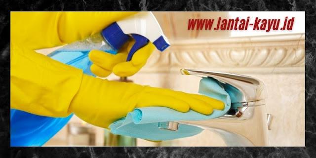 Trik Mempercantik Tampilan Kamar Mandi Sederhana - selalu menjaga kebersihan kamar mandi