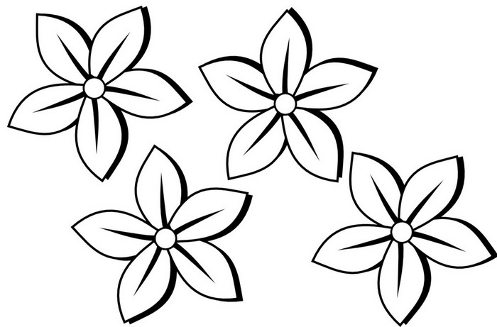 best Flor En Blanco Y Negro Para Pintar image collection