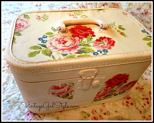 Train Case Refashioned with Cath Kidston