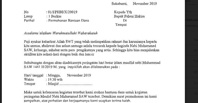 Download Proposal Kegiatan Phbi Maulid Nabi Muhammad Saw 1441 H Salam Literasi