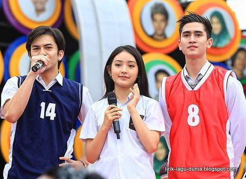 Anak Sekolahan SCTV - Rizky Nazar, Natasha Wilona dan Verrell Bramasta