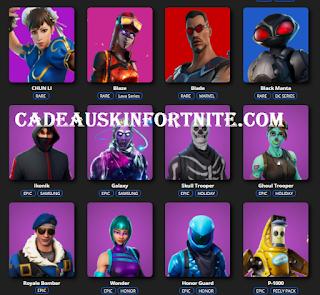 Cadeauskinfortnite.com Free skins fortnite from cadeauskinsfortnite.com