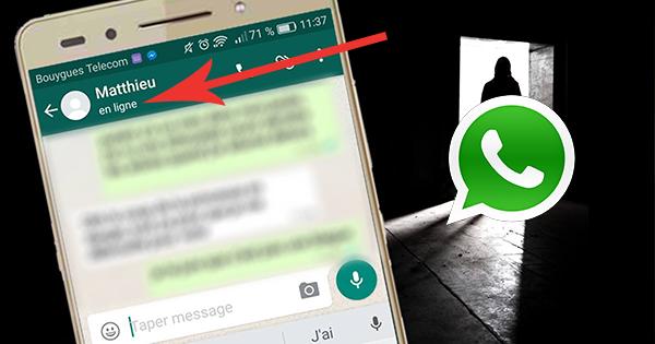 WhatsApp: comment cacher le statut ''en ligne ...