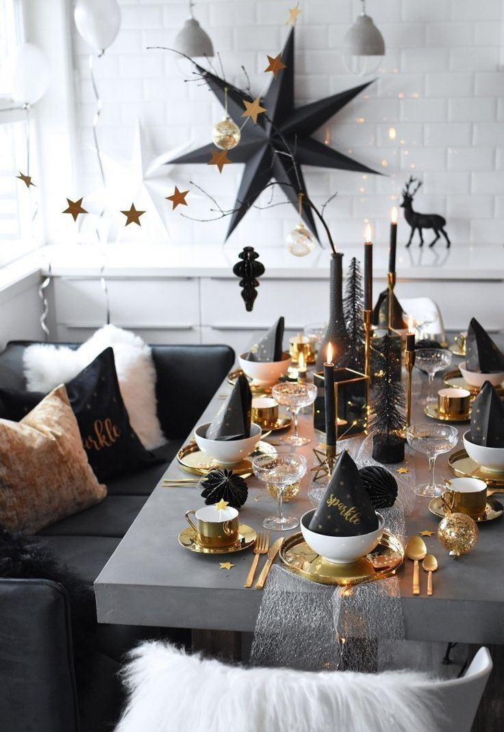 best decoration idea for New Year Eve party 2020