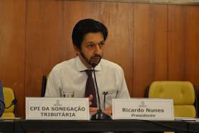 Ricardo Nunes CPI Sonegação SP