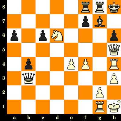 Les Blancs jouent et matent en 3 coups - Leonid Shamkovich vs Roy Ervin, Lone Pine, 1979