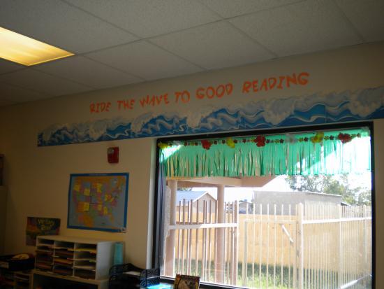 Beach Ocean Themed Classroom Clutter Free Classroom