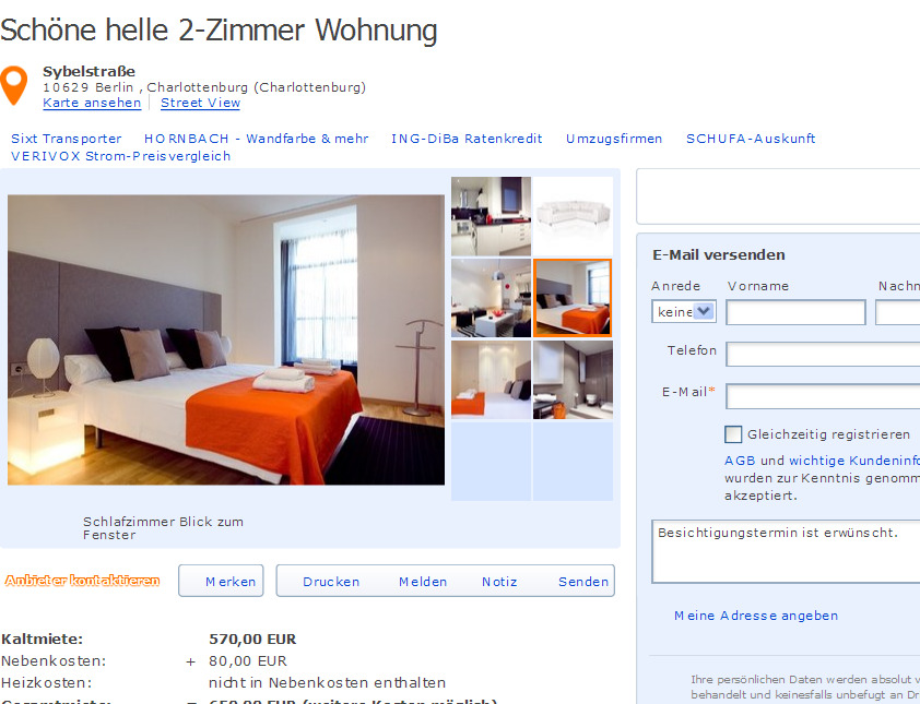 Wohnungsbetrug Blogspot Com 22 Oktober 2012