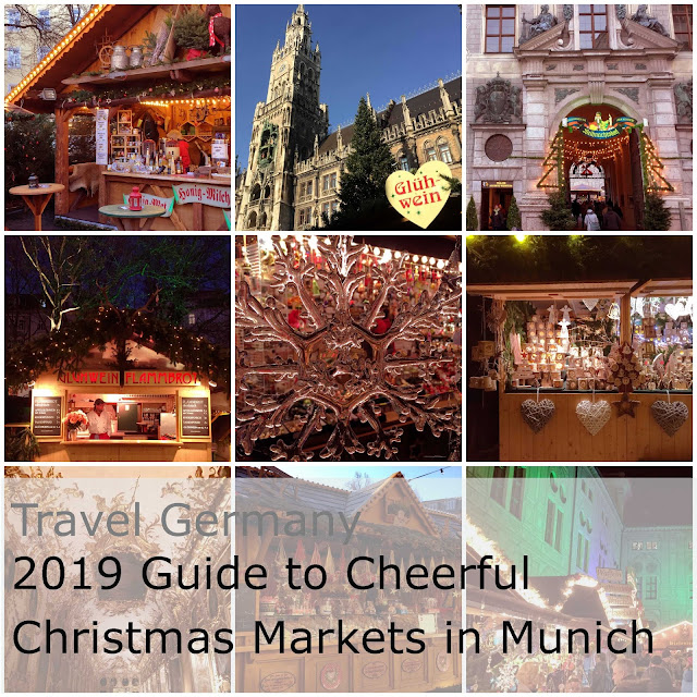 Travel Germany. 2019 Guide to cheerful Christmas Markets in Munich