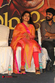 Actress Preethi Shankar Pictures in Salwar Kameez at Metro Movie Press Meet  0012