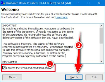 تحميل برنامج بلوتوث للكمبيوتر لويندوز 7 و 8 و 10