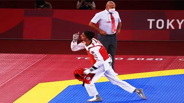 أول ميدالية للعرب في التايكوندو بأولمبياد طوكيو 2020