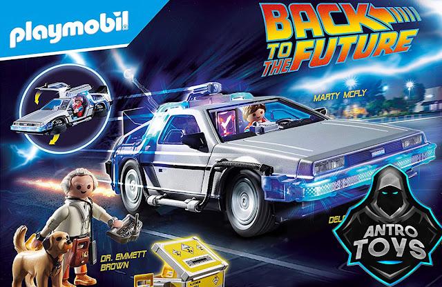 DeLorean Playmobil ritorno al futuro back to the future recensione