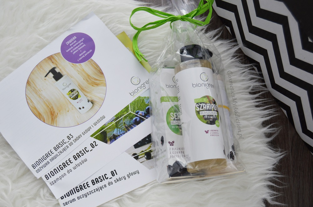 Serum, szampon i odżywka od Bionigree | Zgarnij bezpłatny zestaw próbek