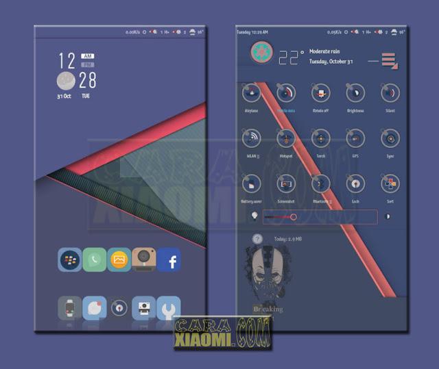MIUI Theme CingirMU Mtz For Xiaomi Redmi V9 Theme/ V8 Theme