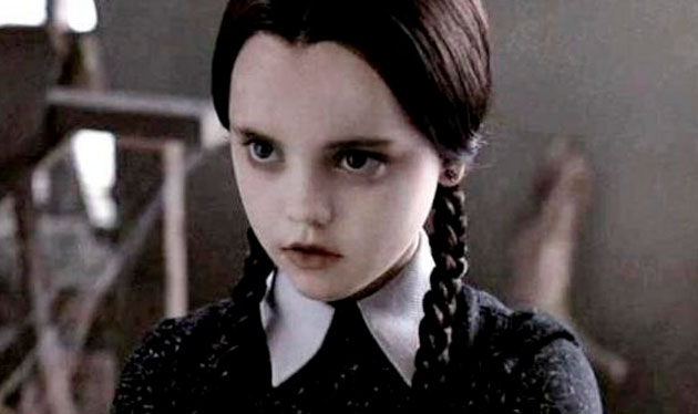 Vandinha Addams (Cristina Ricci)