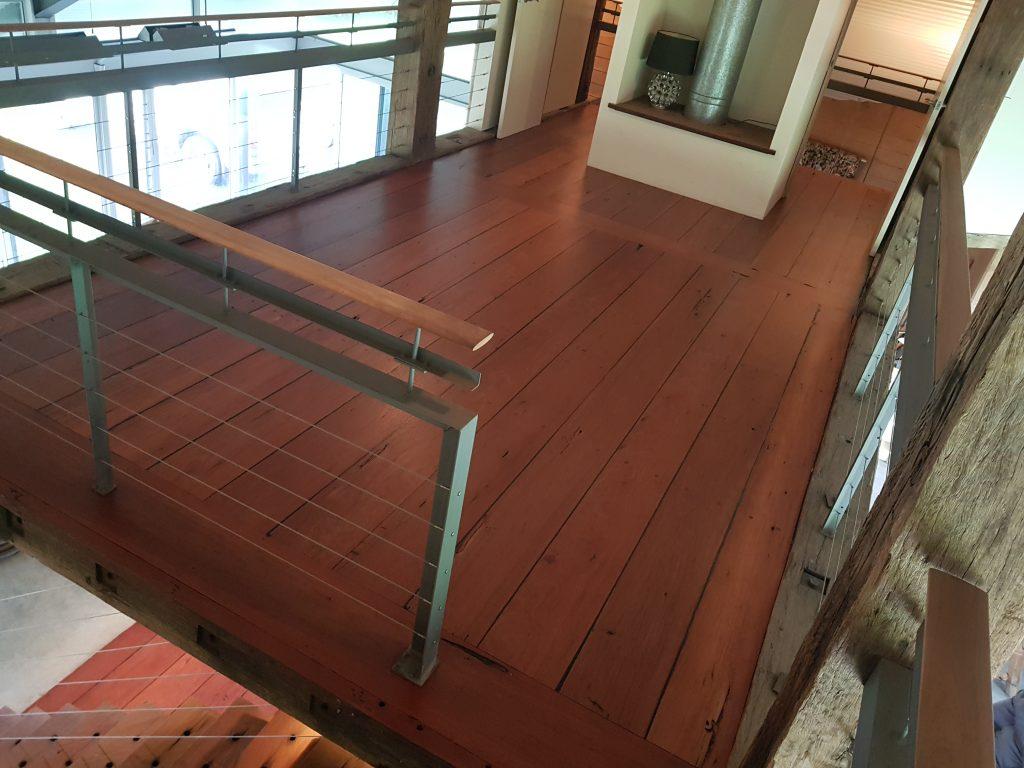 polishing wooden floors