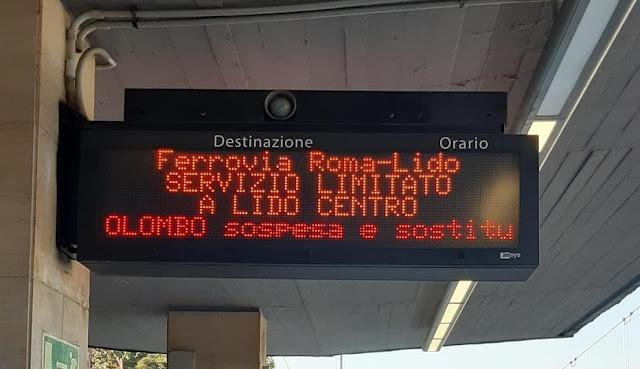 Roma-Lido giorno 2: l'Inferno sulle strade!