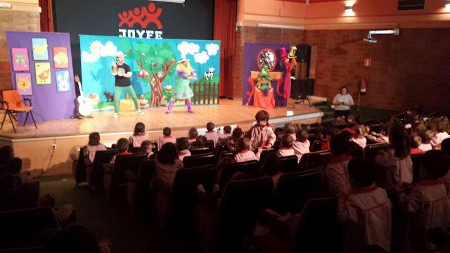 teatros en colegios