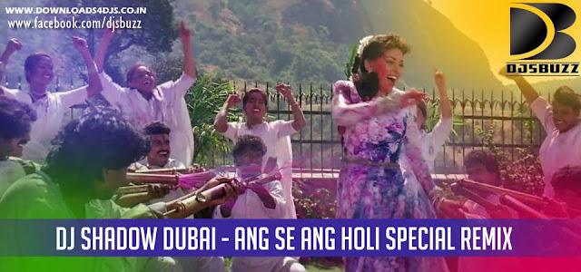 Ang Se Ang Holi Special By DJ Shadow Dubai Remix