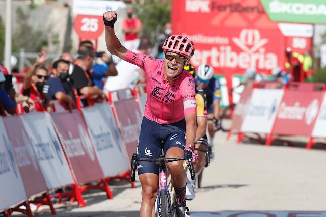Magnus Cort venceu uma etapa da Vuelta a España pela quarta vez na carreira