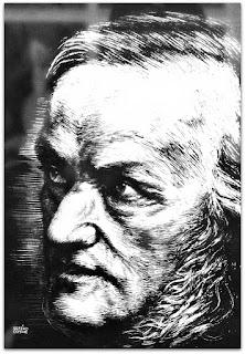 Wilhelm Richard Wagner - Caricaturas Românticas de Sotero Cosme