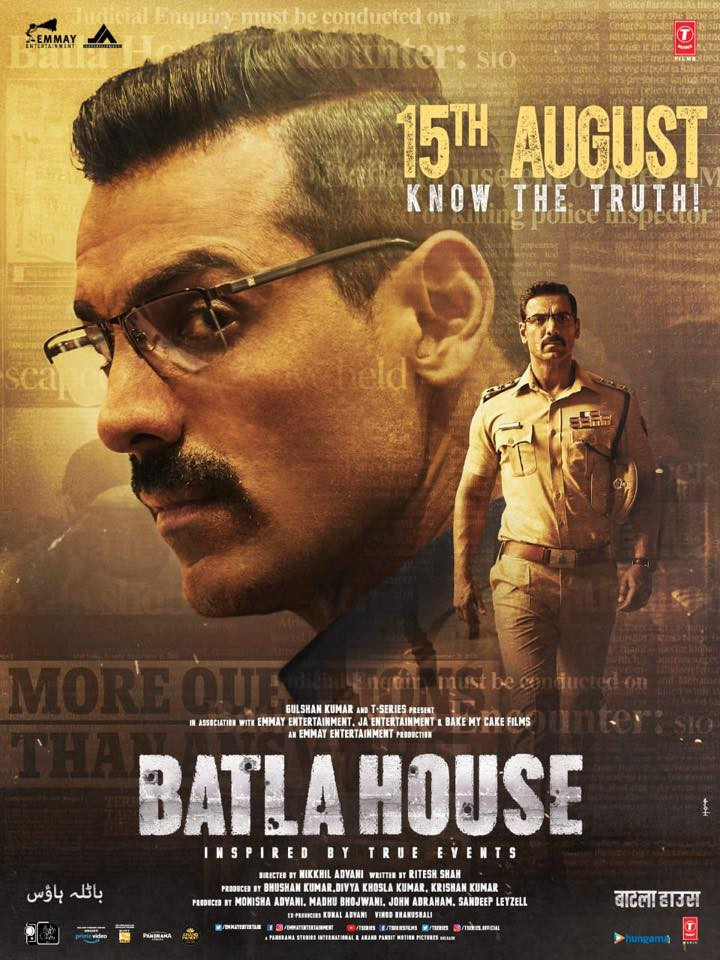 hindi a movie 2019 Batla House 2019 Hindi Movie 720p DVDScr 700MB X264 Download