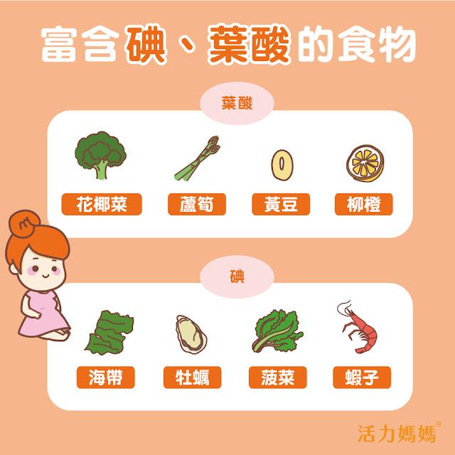 懷孕初期補葉酸?哪些食物中含有葉酸?