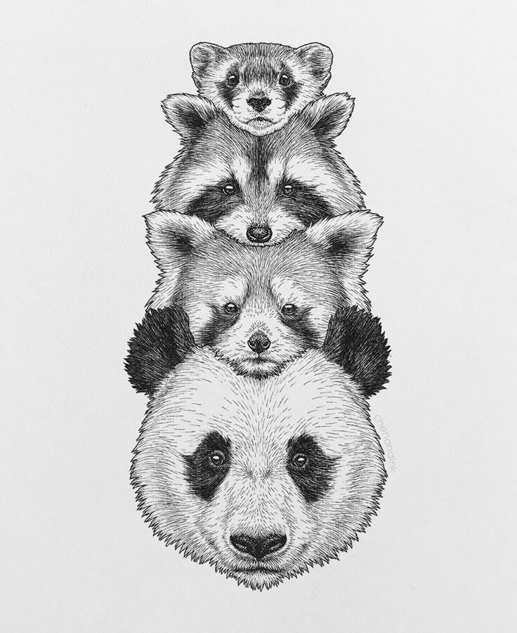 04-Animals with masks-Chen-Naje-www-designstack-co