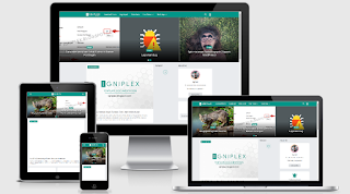Igniplex Blogger Template Free Download