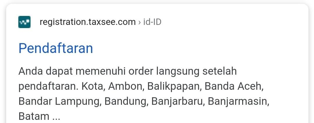 Cara Daftar Driver Maxim Bandar Lampung