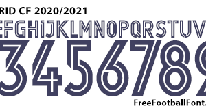barco servir zoo  Free Football Fonts: Real Madrid CF 2020/2021 UEFA Champions League Adidas  Font