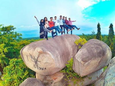Batu Granit di Tanjung Bintang