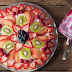 Sugar Cookie Crust Fruit Pizza