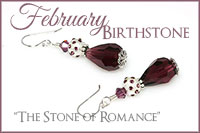 February Birthstone: The Stone of Romance -Crystal Allure Beaded Jewelry Creations