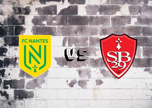 Nantes vs Brest  Resumen