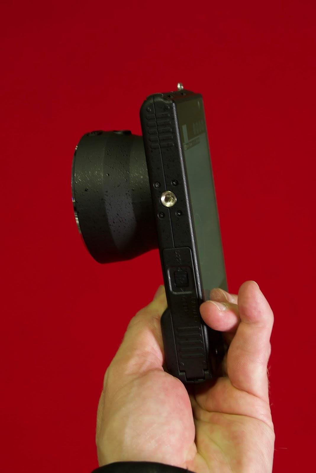 Камера Yongnuo YN450, вид снизу