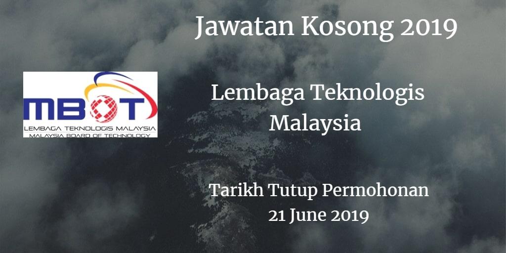 Jawatan Kosong MBOT 21 June 2019