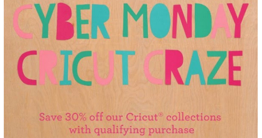 Cyber Monday Cricut Craze
