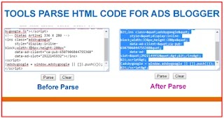 Cara Parse Kode HTML Online Adsense
