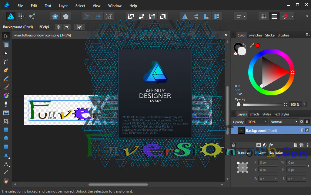 Affinity Designer 1.5.3.69 For Windows [Portable]