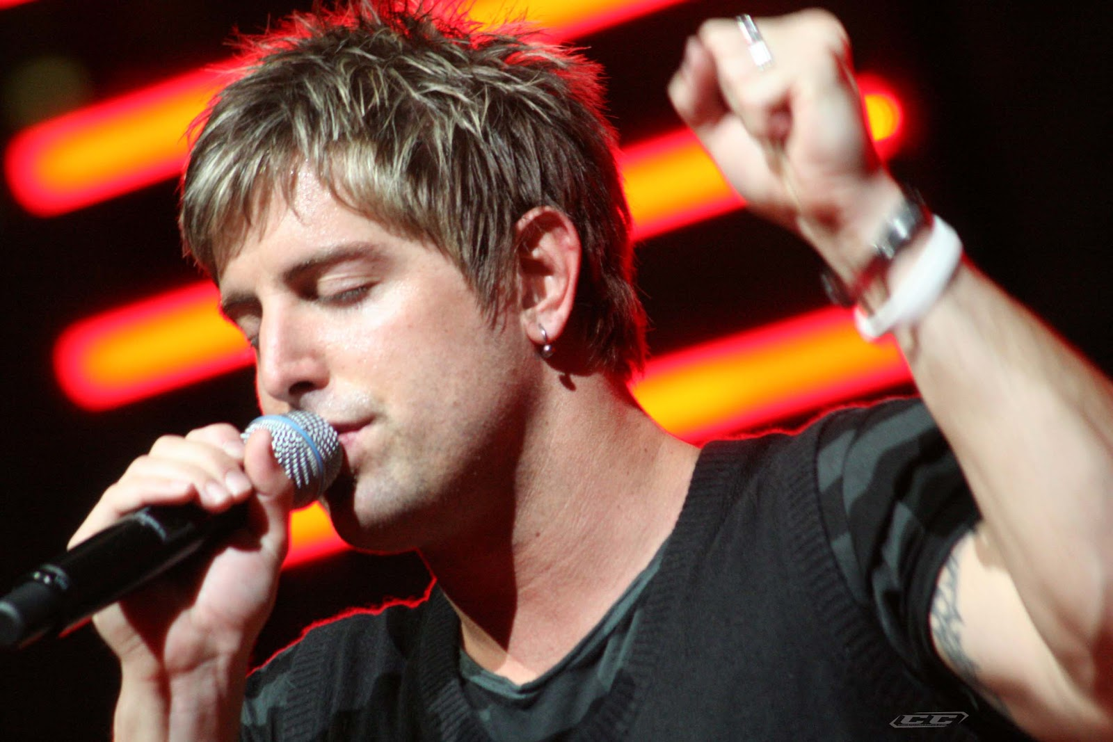 Jeremy Camp - Christmas, God With Us 2012 performing live in stage