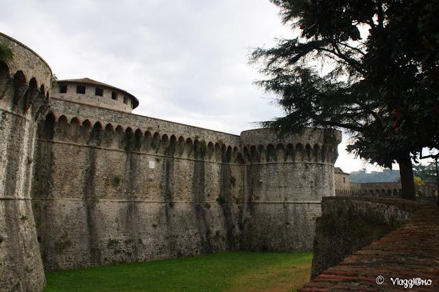 La cittadella di Sarzana anche chiamata Fortezza Firmafede