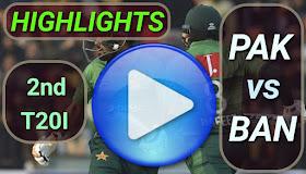 PAK vs BAN 2nd T20I 2020