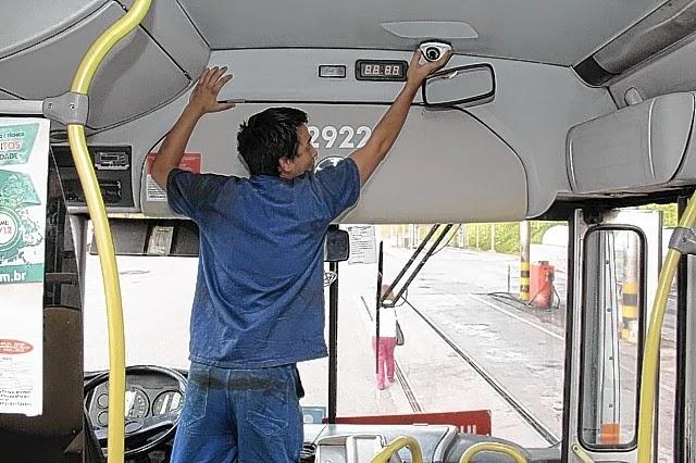 Sistema de monitoramento por câmeras irá auxiliar combate a assaltos em ônibus na Bahia
