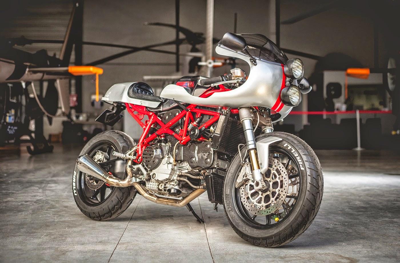 Bell Moto 3 >> Ducati 749 S Cafe Racer - RocketGarage - Cafe Racer Magazine